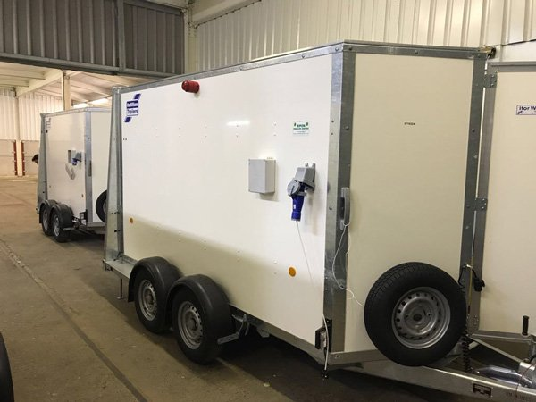 Mobile Chemical Dosing Trailer - LEADA