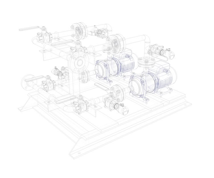 ETTON WOLD CARRIER WATER PUMP ASSEMBLY